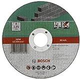 Bosch 2609256329 DIY Trennscheibe Stein 125 mm ø x 2.5 mm gerade