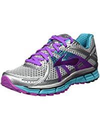 Brooks Damen Adrenaline Gts 17 Laufschuhe, Silver/Purplecactusflower/Blue