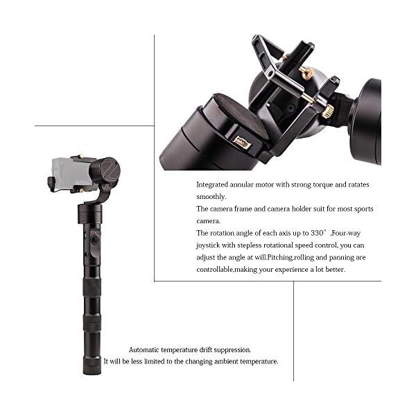 Zhiyun New Version Z1- Evolution 3-Axis Handheld Stabilizer Brushless Gimbal for GoPro Hero 4 3+ 3 2 SJ4000 SJ5000 Sport Cameras 4 spesavip