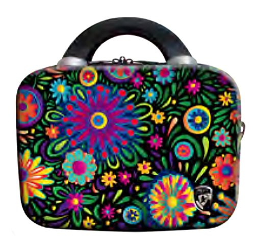 Hardside Beauty Case (PREMIUM DESIGNER Hardside Luggage - Heys Artist Limon Flowers Dance Beauty Case 470577031&Artist&69)