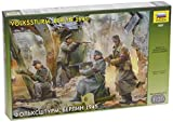 Zvezda 500783621 - 1:35 WWII Figuren-Set Deutsche Volkssturm `45 (4)