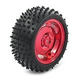85mm coches RC Robot Montaje Camión Rojo plástica del neumático Llanta
