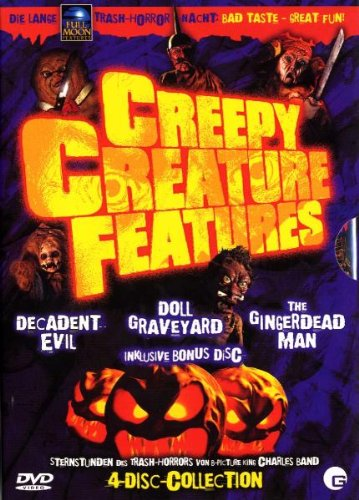 Creepy Creature Features (4 DVDs) Creature Feature-band