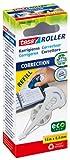 tesa Nachfüllpackung für Korrekturroller 8,4 mm x 14 m eco Logo und recycelte Verpackung 5 Stück