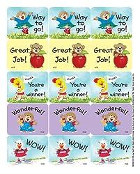 Eureka Suzys Zoo Great Job Reward Stickers