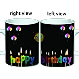 Happy Birthday Coffee Mug | Friends Forever Coffee Mugs | Friendship Coffee Mug | Best Gift For Friends, Brother, Sister, MOM, DAD.