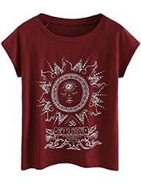 Amazon Blusas Teñido es Efecto Camisetas Y Tops Mujer Ropa 4EwR4Oqrx