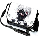 Miraclel Anime Cosplay sur toile Sac à dos Sac à bandoulière Sac à bandoulière 40cmx21cmx12cm Tokyo Ghoul