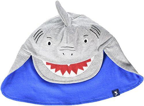Tom Joule Joules Baby-Jungen Mütze Sun Fun, Grey (Shark), L