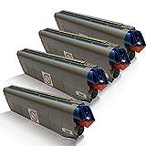 4x kompatible Tonerkartuschen für OKI C-831Series C-831 N C-831 DN C-831 DM C-831 CDTN C-840 Series C-841 CDTN C-841 DN C-841 N Black Cyan Magenta Yellow - Sparset - Office Pro Serie