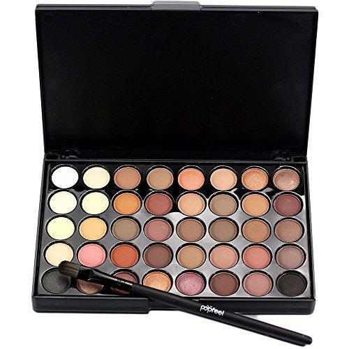 attachmenttou Ombre à paupières Long Lasting Universal 40 Couleur Maquillage Lady