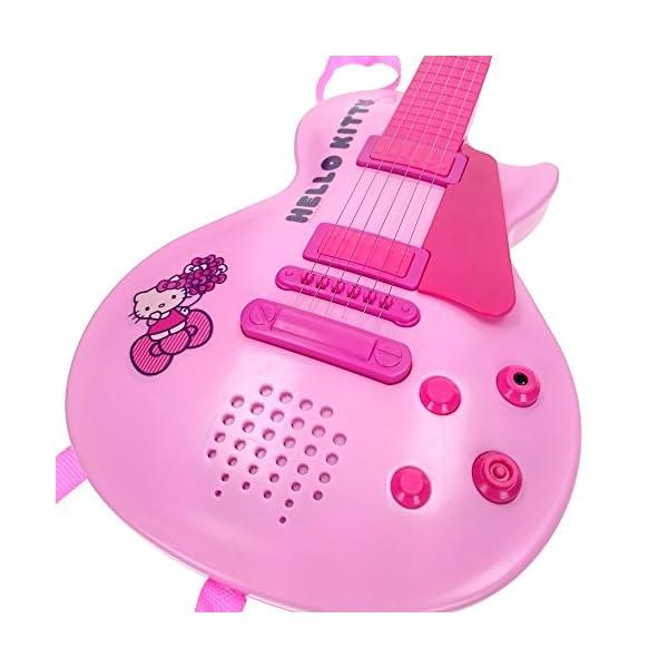 Reig 1505 Hello Kitty - Chitarra Elettronica con Microfono