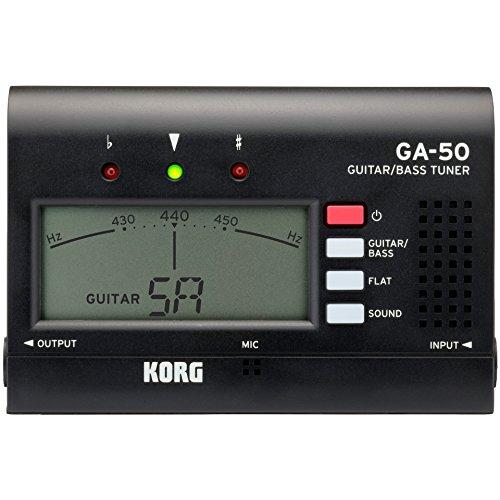 KORG GA50Guitar Tuner schwarz