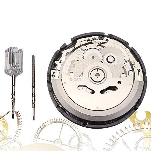 Uhr Mechanisches Uhrwerk, Chshe TM, Nh36A Automatische Mechanische Uhr Mit Hoher Genauigkeit Armbanduhr Tag Datum Uhrenkern - Sim Lg Entsperrt Handys