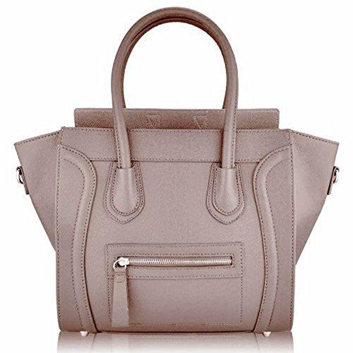 Trendstar Damen Entwerfer Schnappen Lächeln Kunstleder Promi Stil Stilvolle Tote Handtaschen (Tasche Hermes)