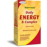 Enzymatic Therapy - Daily Energy B Complex 120 Capsules Végétales