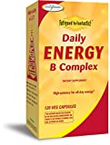 Enzymatic Therapy - Fatigued to Fantastic! Daily Energy B Complex - 120 Vegetarian Capsules