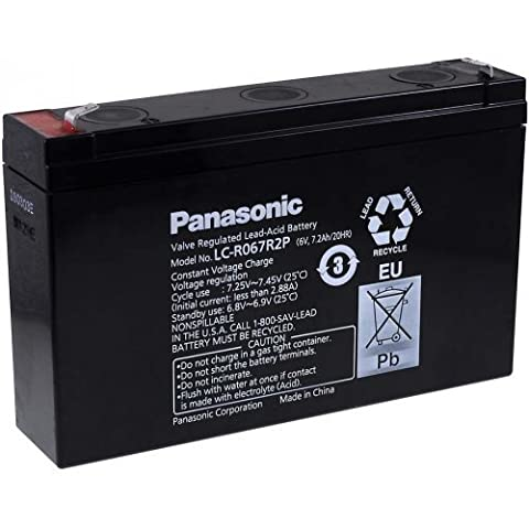 Batterie plomb Panasonic LC-R067R2P
