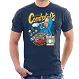 Cornholios Cereal Beavis and Butt Head Men's T-Shirt -
