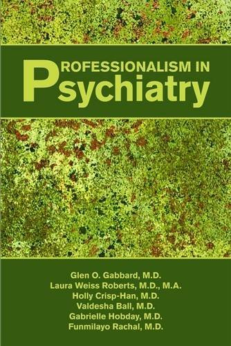Professionalism in Psychiatry by Brown Foundation Chair of Psychoanalysis and Professor of Psychiatry Glen O Gabbard MD (2011-04-10)