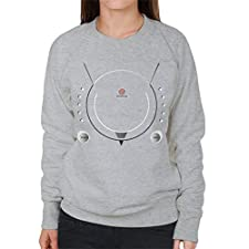 Cloud City 7 Sega Dreamcast Gaming Console Women's Sweatshirt