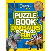Puzzle Book Dinosaurs: Brain-tickling quizzes, sudokus, crosswords and wordsearches (National Geographic Kids Puzzle Books)