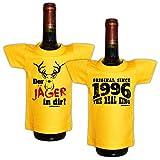 Goodman Design ® Mega Scherzartikel Original Since 1996 - Jäger in dir - Geburtstagsgeschenk - 2er T-Shirt Set für Flaschen
