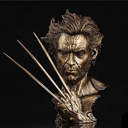 JSFQ Imitation Kupfer Statue Büste Statue 30 cm Geschenk Serie Desktop Platzierung Modell Toy ()