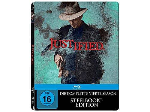 Staffel 4 (Steelbook) (Limited Edtion/Uncut) [Blu-ray]