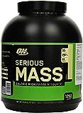 Optimum Nutrition Serious Mass Weight Gainer (mit Kohlenhydrate, Whey Eiwei�mischung Pulver, Vitaminen, Kreatin und Glutamin, Protein Shake von ON) Vanilla, 8 Portionen, 2,72kg medium image
