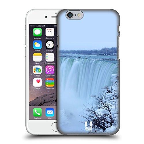 Head Case Designs Brume D'hiver Aux Chutes Du Niagara Monuments Célèbres Étui Coque D'Arrière Rigide Pour Apple iPhone 6 / 6s Brume D'Hiver Aux Chutes Du Niagara