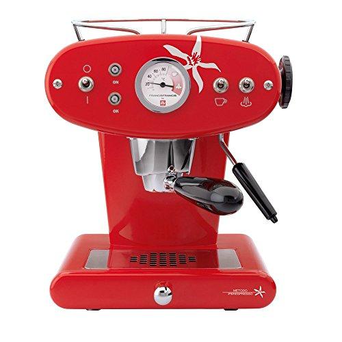 Francis Francis! 6580 Macchina da Caffe Espresso in Capsule Iperespresso X1, Rosso