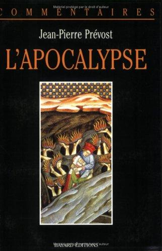 L'APOCALYPSE. Commentaire pastoral