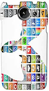 Timpax protective Armor Hard Bumper Back Case Cover. Multicolor printed on 3 Dimensional case with latest & finest graphic design art. Compatible with HTC one X+ ( Plus ) Design No : TDZ-25718