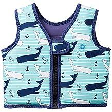 Splash About, Go Splash, Chaleco de natación para niños, Azul (Vintage Moby