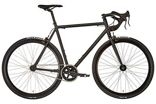 FIXIE Inc. Floater RACE black matte Rahmengröße 55,5 cm 2017 Cityrad