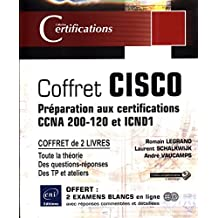 CISCO - Coffret de 2 livres - Préparation aux certifications CCNA 200-120 et ICND1