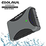 COOLNUT-Waterproof-10400mAh-Portable-Power-Bank-USB-Battery-Bank-(Gray)