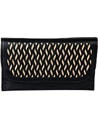 Kuero Women's Clutch (Black)