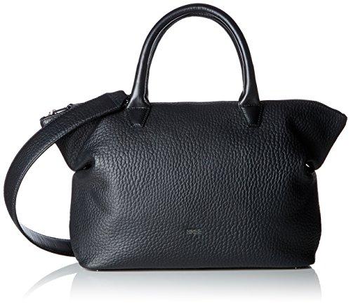 BREE Damen, Black, Icon Bag M S18 Handgelenkstasche, Schwarz, 11x27x32 cm