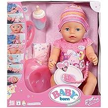 Baby Born 30878 – Muñeca interactiva niña 9 funciones ...