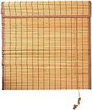 Your Choice Raffrollo klappbar, Bambus 80 x 180 cm natur