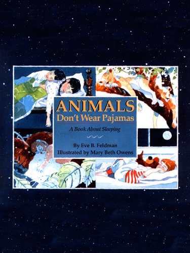 Animals-Dont-Wear-Pajamas-A-Book-About-Sleeping-English-Edition