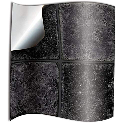 Tile Style Decals 24 stück Fliesenaufkleber für Küche und Bad NTP08 4