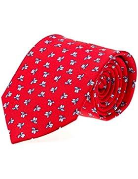 Corbata seda hombre estampado Abejas