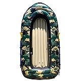 BOOA Barca Assault Resistente all'Uso antiusura della Barca Gonfiabile per Quattro Persone, compreso pagaia e Pompa, Dimensione Gonfiabile della Barca 270 * 145Cm