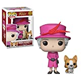 Funko-21947 Royal Family Queen Elizabeth II Figurine Pop, 21947, Multicolore, Taille Unique