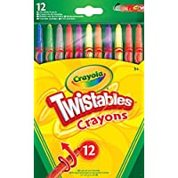 Crayola 52-8530-E-000 Twistable Crayons (12 Pack) - Multicolor