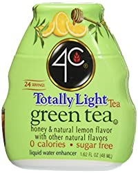4c Totally Light Green Tea Liquid Water Enhancer 1.62 Fl Oz (4 Count)