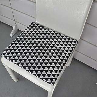 QTQZ Nordische sitzkissen,Büro-stuhlkissen sitzkissen Kissen abdeckungen Auto-P 50x50cm(20x20inch)